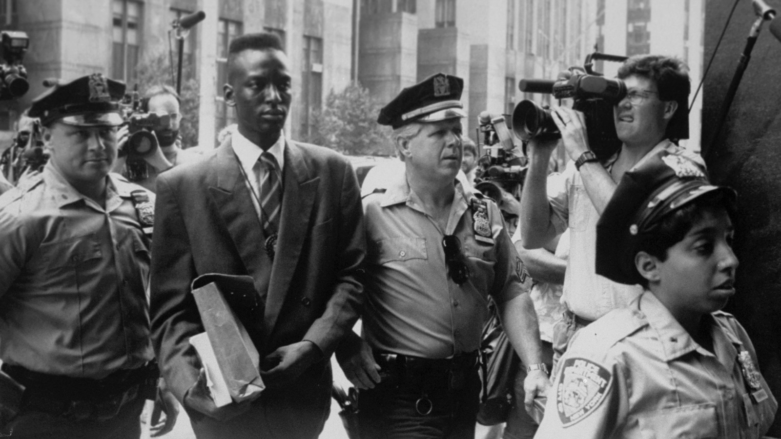 film still from The Central Park Five (2012)