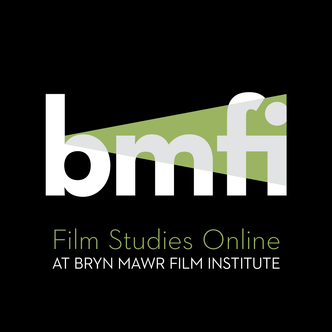 logo for bmfi's film studies online program