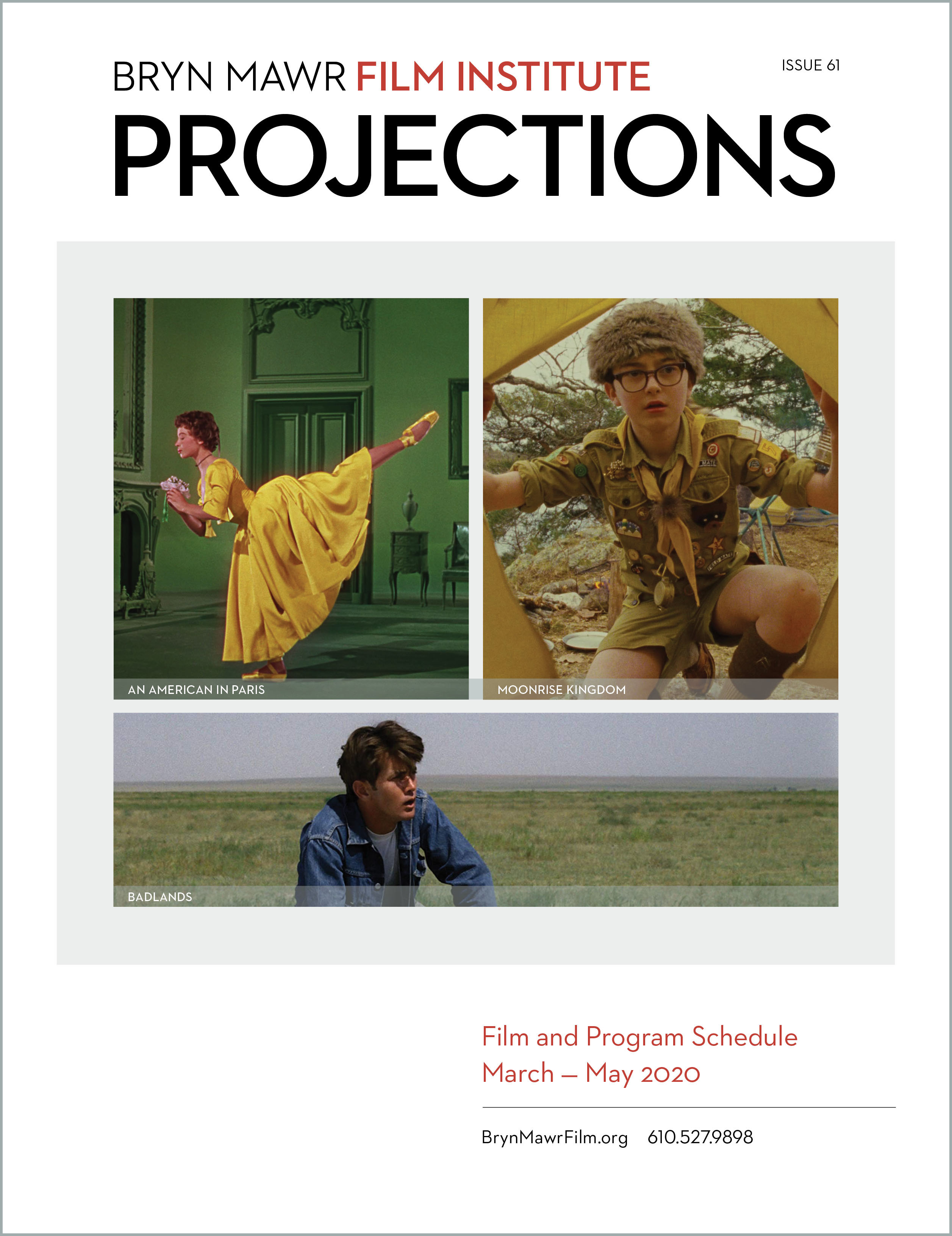 cover of Projections magazine, issue 61