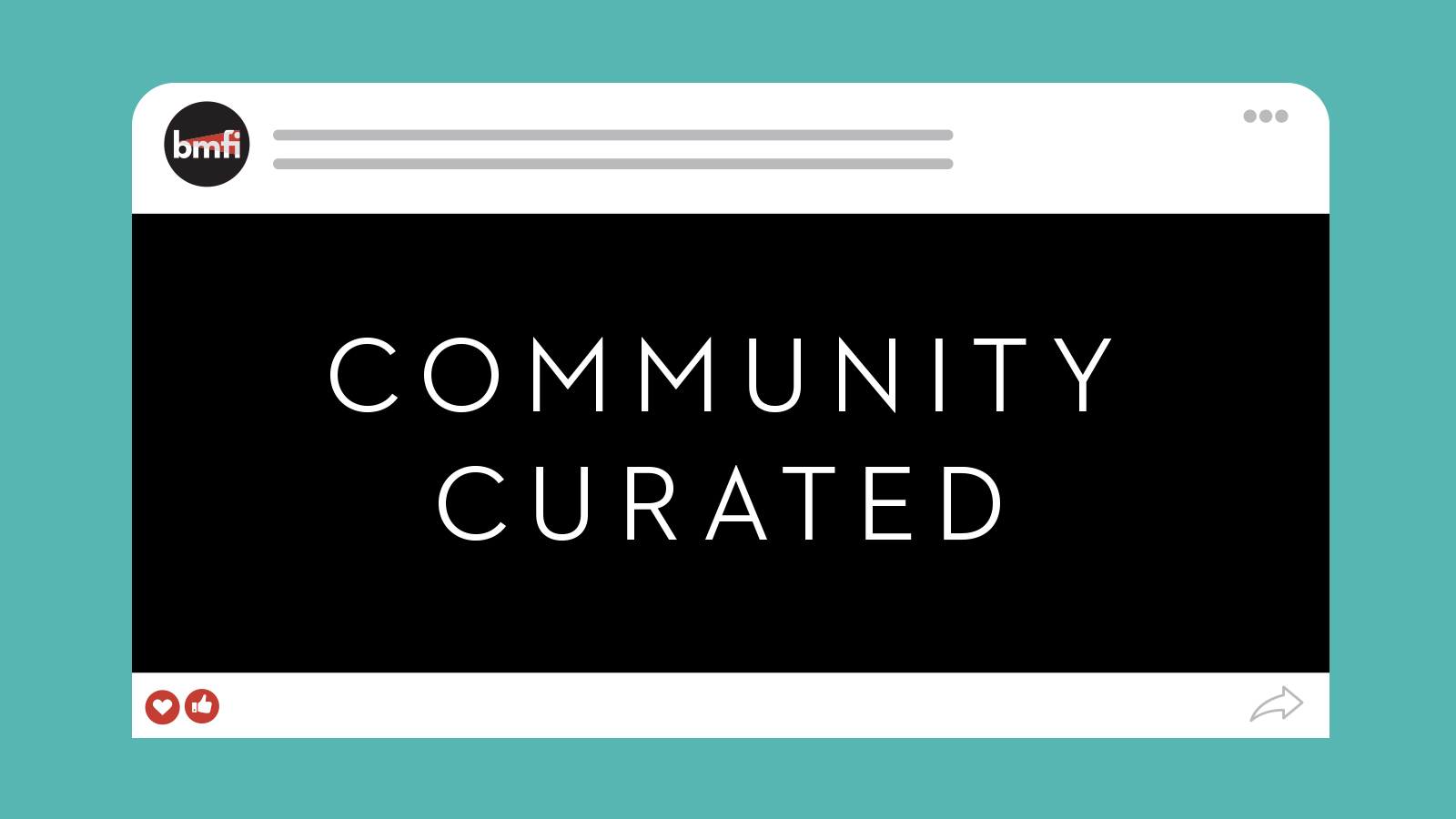 community curated